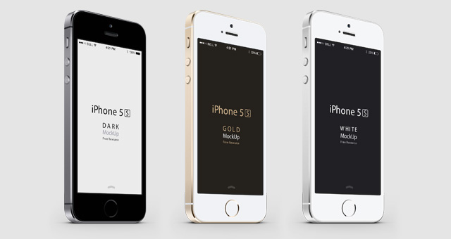 Best & Latest IPhone 5S And IPhone 5C Mockup Templates