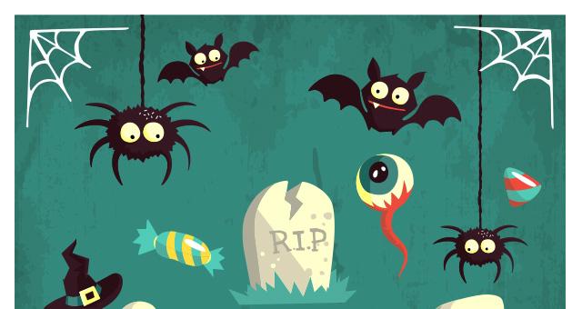 Halloween Vector Art Pack Vol2