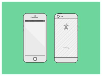 38 IPhone Mockup Templates For App Web Designers