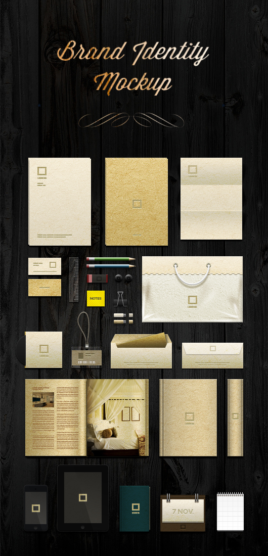 15 identity branding stationery mockup templates 365 web resources. Black Bedroom Furniture Sets. Home Design Ideas