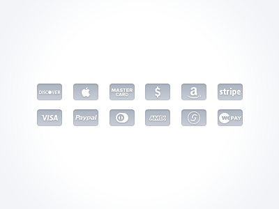 Free Credit Card Icons