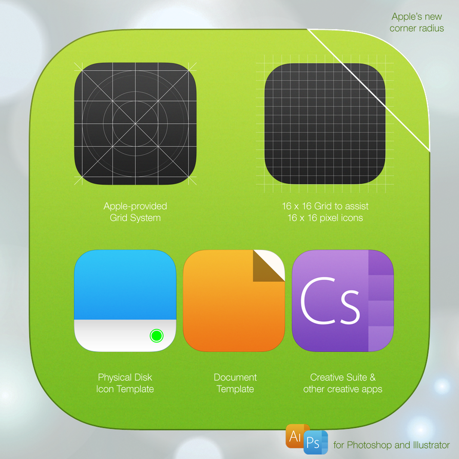 25+ Best iOS App Icon Templates To Create Your Own App Icon - 365 ...