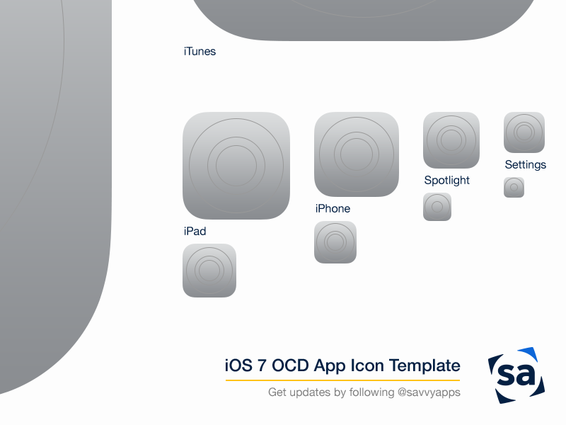 iOS-7-OCD-App-Icon-Template Xcode Application Template on for ios, app icon,