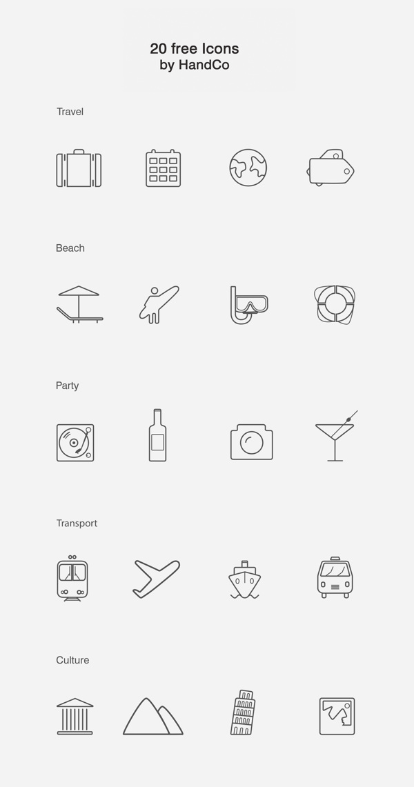 20-Clean-and-Clear-Line-Icons-Vector