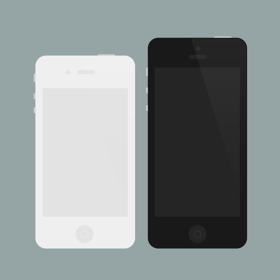 Best & Latest iPhone 5S and iPhone 5C Mockup Templates ...