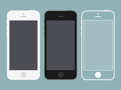 iphone 5s psd - Iphone 5s Mockup Free