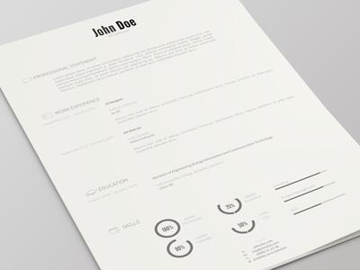Resume Template Version 2