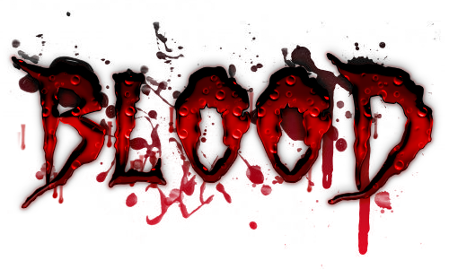 Blood - Text Effect