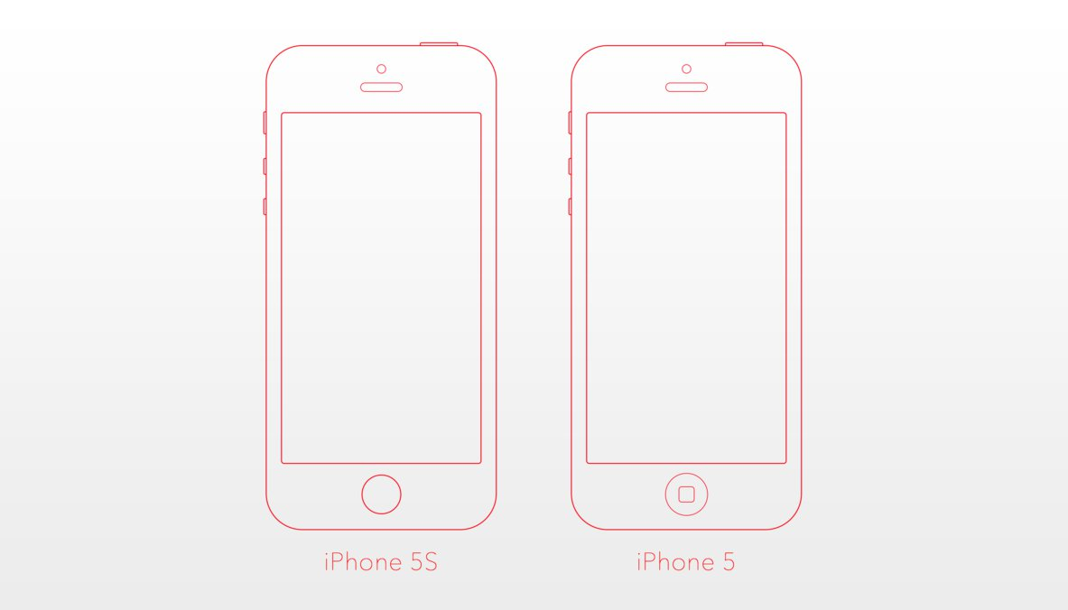 Iphone 5c template the image kid has it for Iphone cut out template
