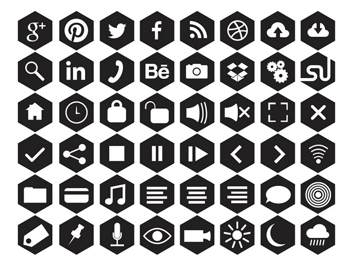 20+ Fresh New Social Media Icon Sets In 2014 - 365 Web Resources