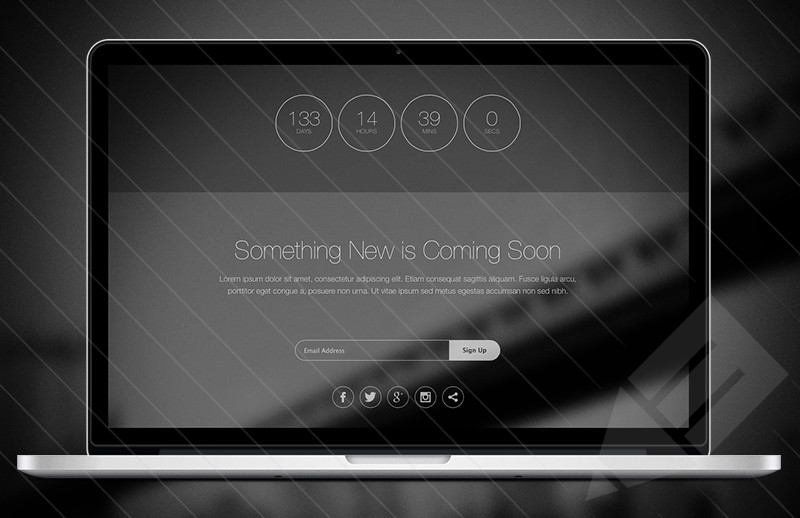 Top 10 coming soon page templates for inspiration 365 web resources pronofoot35fo Image collections