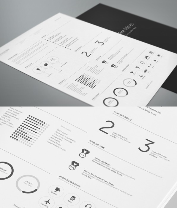 10  new fashion resume    cv templates for free download