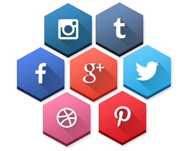 20+ Fresh New Social Media Icon Sets In 2014 - 365 Web ...