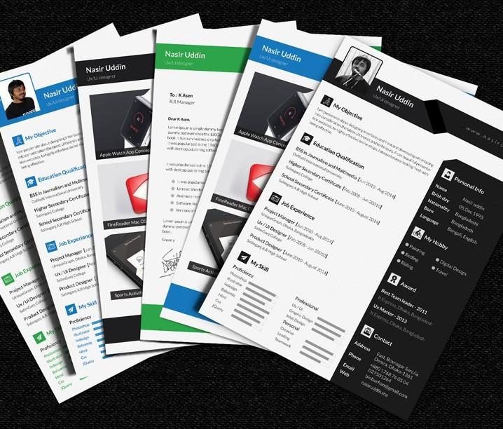 Freebie Multi-Page Resume