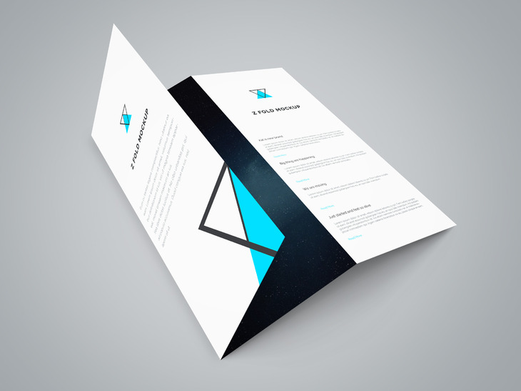 High Quality Free Flyer And Brochure MockUps  Templates
