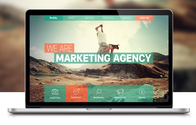 15+ Best One Page Website PSD Templates For Web Designers - 365 ...