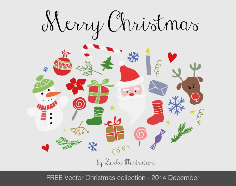 merry christmas ai vector
