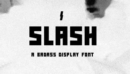 Slash Font Download