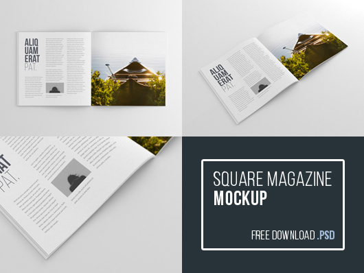 40 Magazine Mockups Amp Templates For Free Download 365