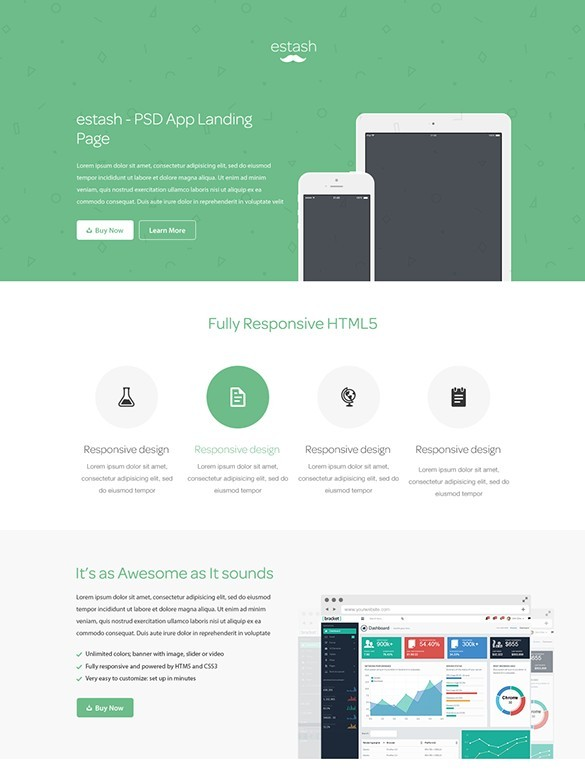 Free Landing Page Single Page App Templates To Increase Your - Website splash page templates