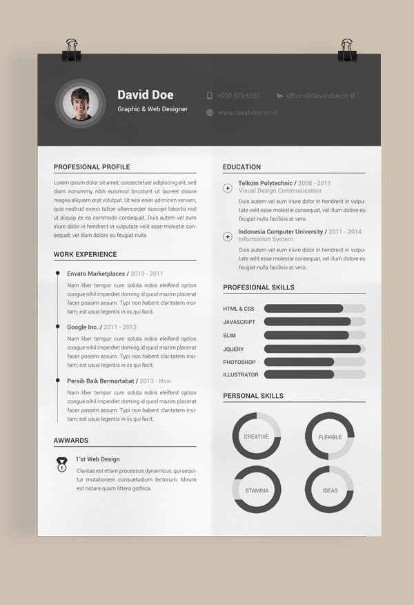 What Software Do You Use To Make Your Resume Web Design
