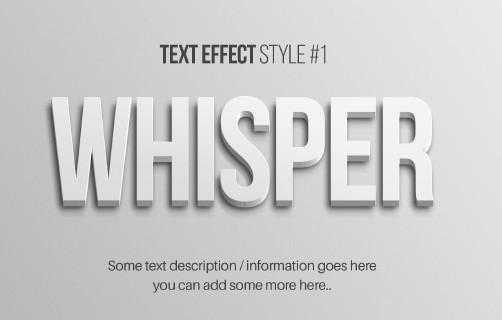 100 New Photoshop Text Styles For Free Download 2018