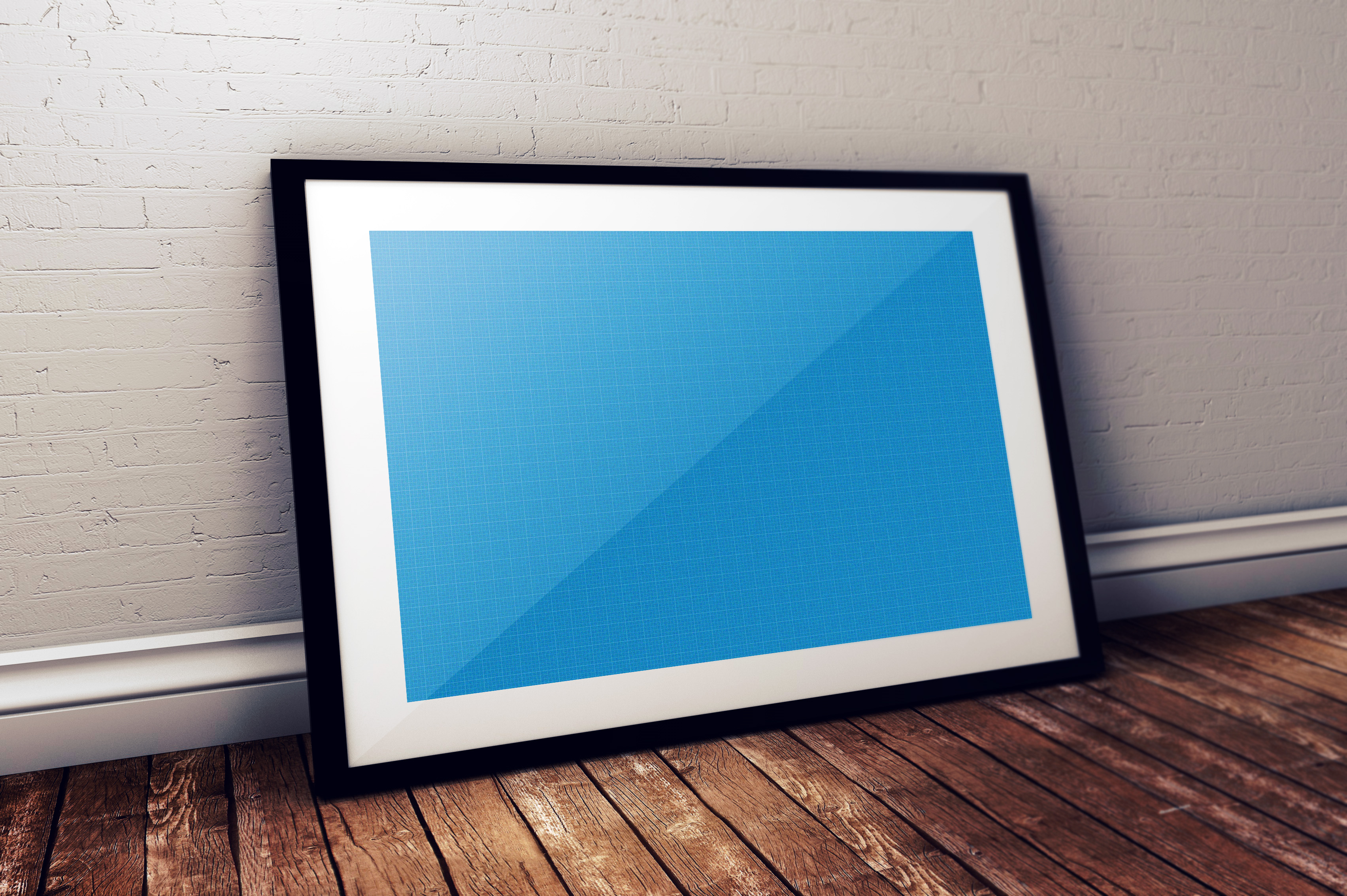 60+ Free Realistic Poster & Frame Mock-ups For Graphic Designers ...