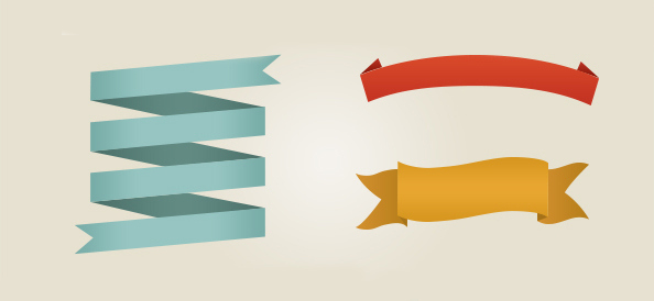 15+ PSD Web Ribbons For Free Download - 365 Web Resources