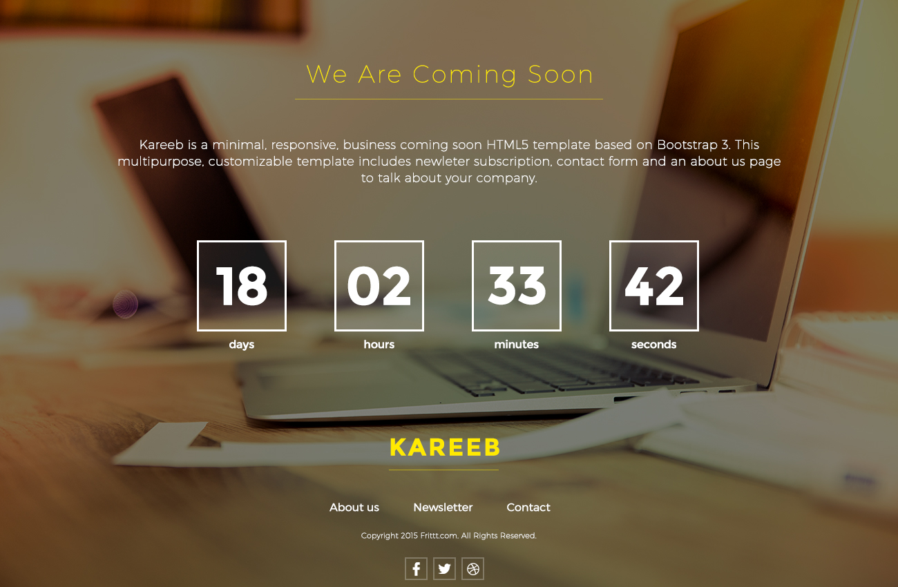 30 Best Coming Soon Page Templates For Inspiration Updated For