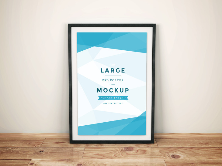 Artwork Frame PSD Mockup Vol.4