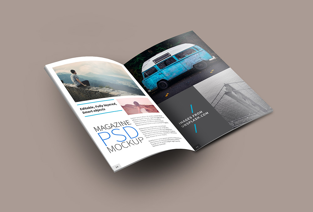 40+ Magazine Mockups & Templates For Free Download (Updated For 2018 ...