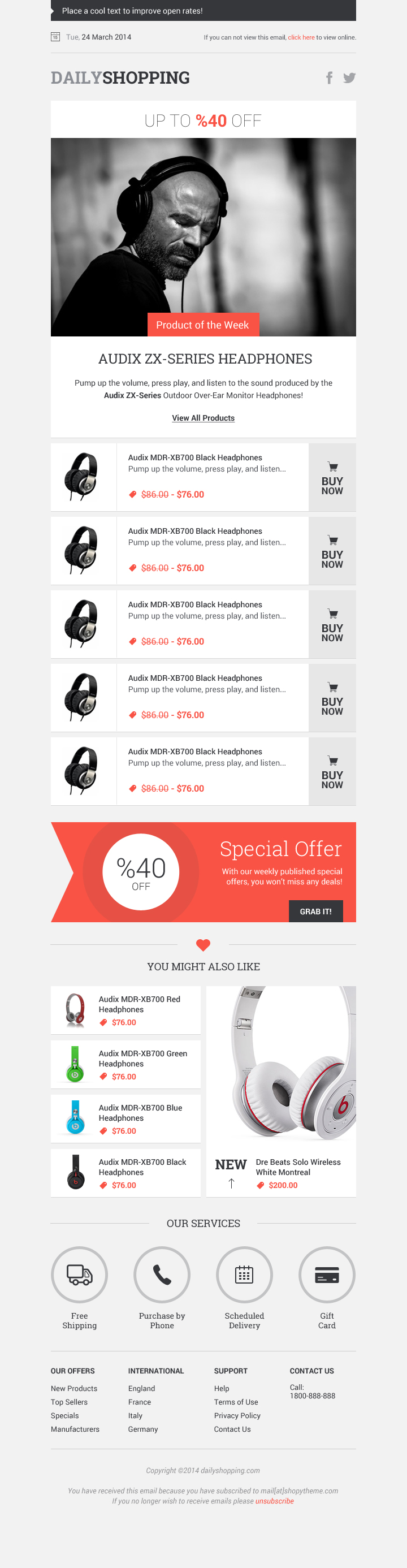 25+ Best Newsletter & Email Templates For Free Download