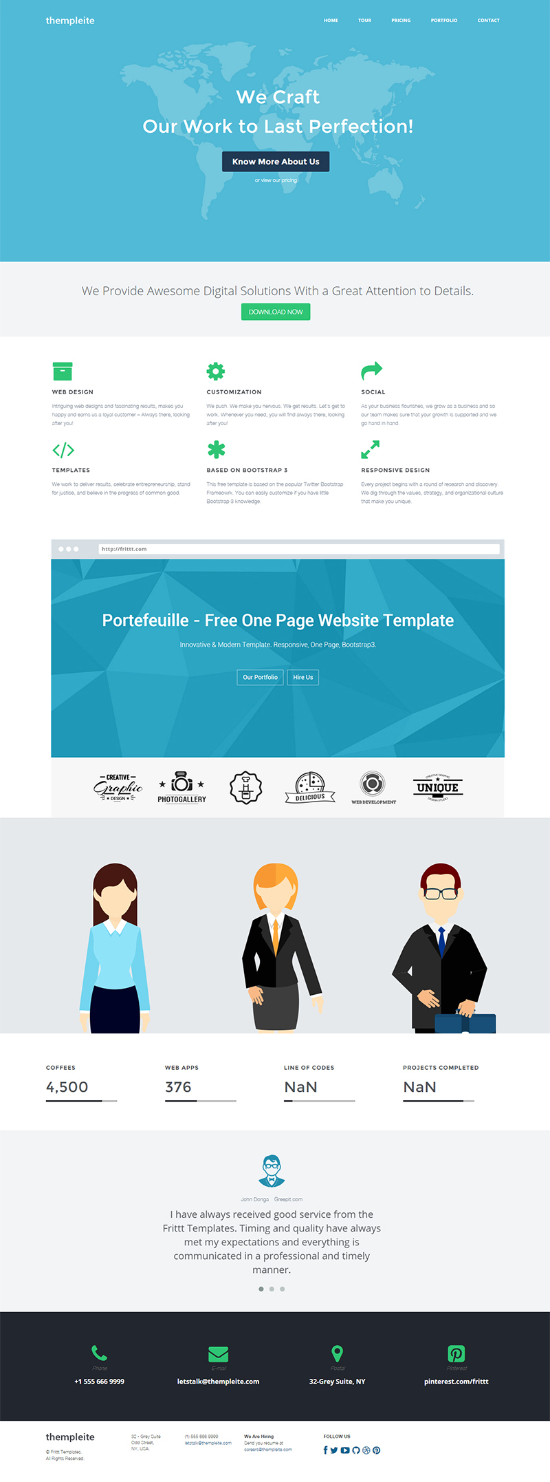 dating website template bootstrap free