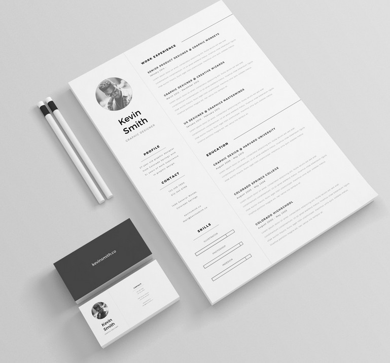 graphic design resume templates free - Word Doc Resume Template