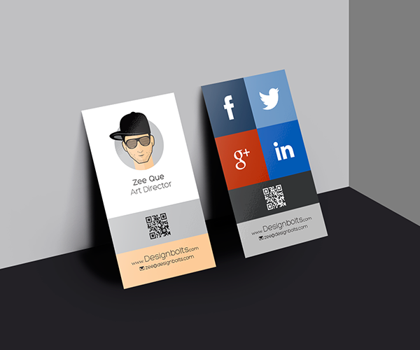 200 best business card mock ups for free download 2018 edition free vertical business card design template mock up psd file reheart Image collections