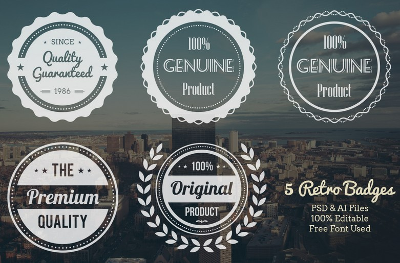 Free Modern Insignia Logo Badge Templates Updated For - Free modern logo templates