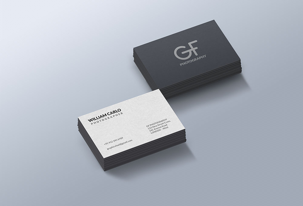 200+ Best Business Card Mock-ups For Free Download (2018 Edition ...