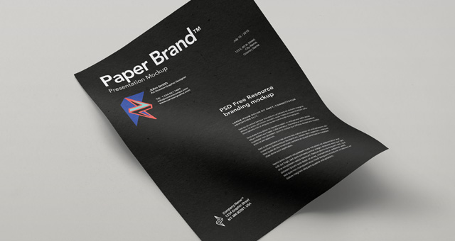 30 best free a4 paper mockups you must see updated for 2018 365
