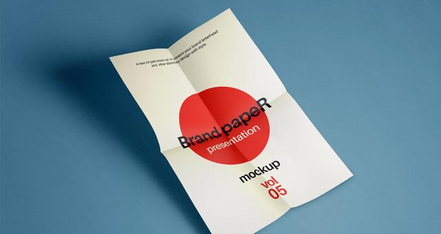Psd A4 Paper Mock-Up Vol5