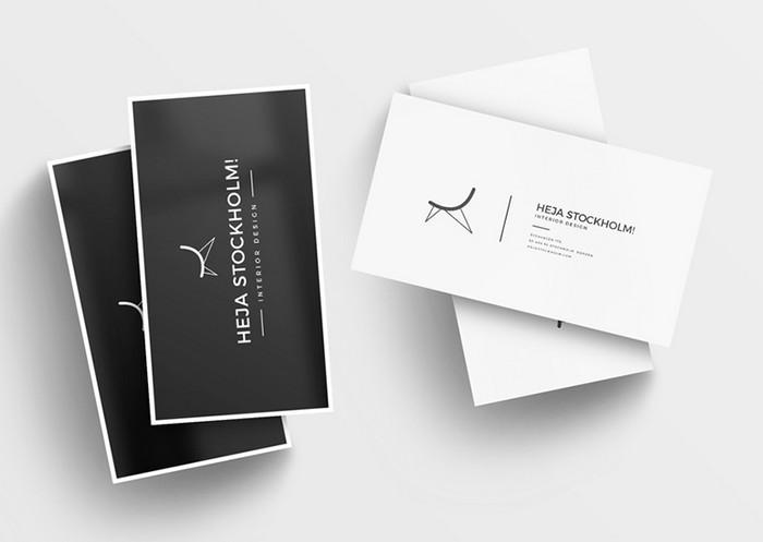 200 best business card mock ups for free download 2018 edition 8 free clean business card mockups reheart Gallery