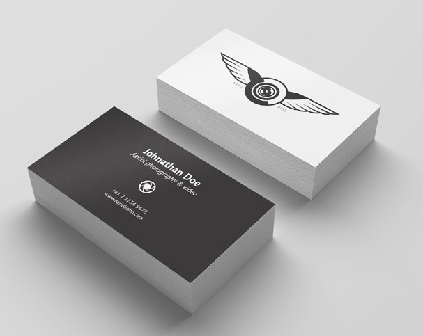 200 best business card mock ups for free download 2018 edition 4 free business card mockup reheart Images