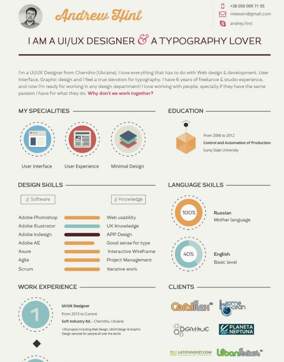 resume cv template free psd - Curriculum Vitae Samples Free Download