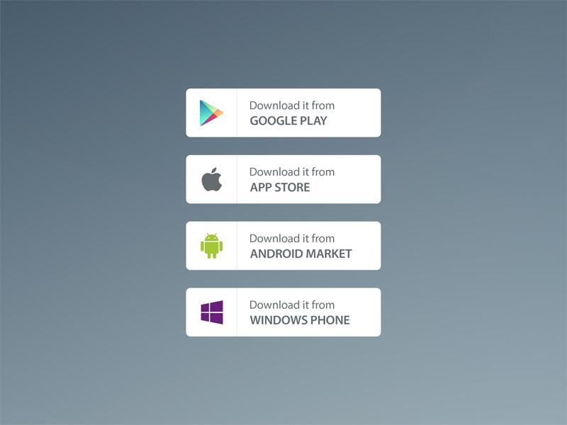 app store badge vector