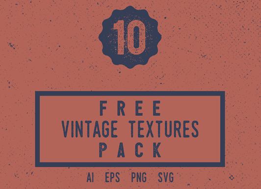 Free Vintage Texture Pack PNG And Vector Files