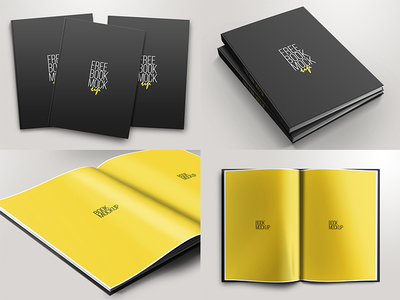 50+ Best Book Mockups & Templates For Free Download (Updated For ...