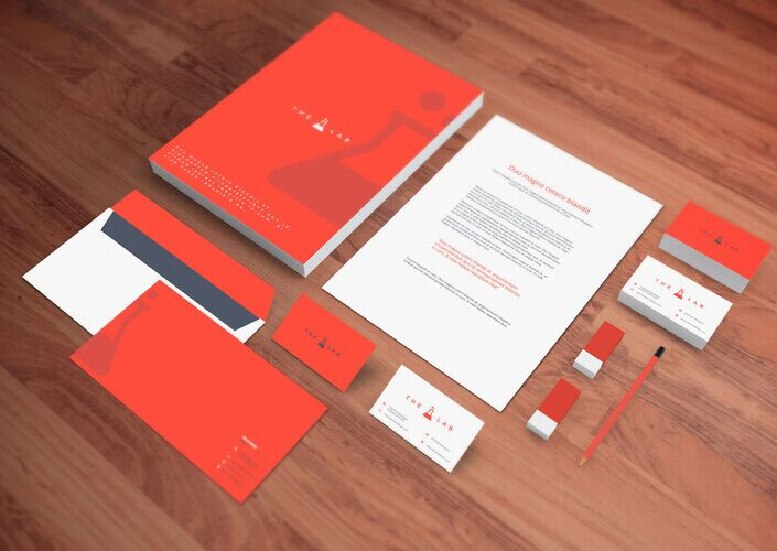 100+ high quality identity branding stationery mockups for free, Powerpoint templates