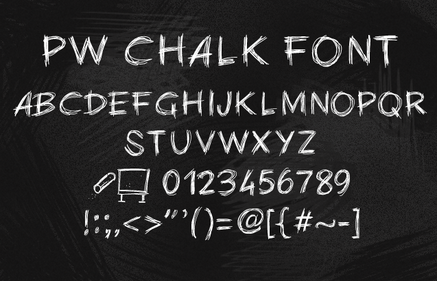 chalk writing font vatoz atozdevelopment co