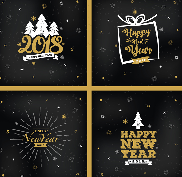 150 Best Christmas Happy New Year Graphic Design Freebies 2018