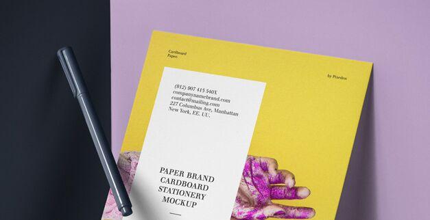 Psd Paper Brand Mockup