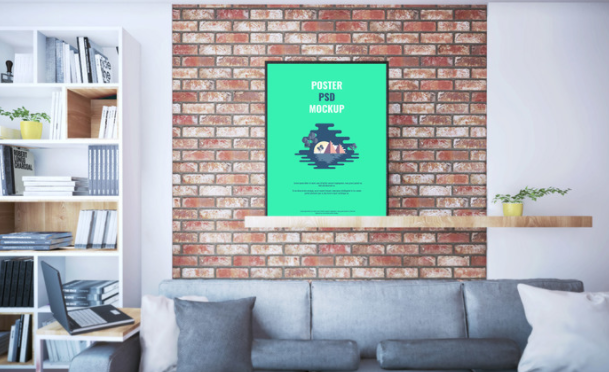 60 Free Realistic Poster Amp Frame Mock Ups For Graphic